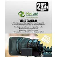 Image of New Leaf PLUS - 2 Year Video Camera Service Plan with Accidental Damage Coverage (for Drops & Spills) for Products Retailing up to $500.00