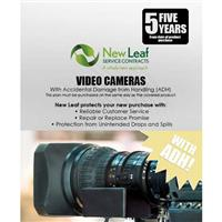 Compare Prices Of  New Leaf PLUS - 5 Year Video Camera Service Plan with Accidental Damage Coverage (for Drops & Spills) for Products Retailing up to $30,000.00