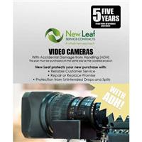 Image of New Leaf PLUS - 5 Year Video Camera Service Plan with Accidental Damage Coverage (for Drops & Spills) for Products Retailing up to $5000.00