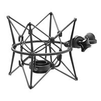 Compare Prices Of  Neumann Elastic Suspension Shockmount for U 89 i Microphone, Nickel Finish