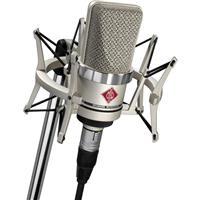 Image of Neumann Neumann TLM 102 Studio Set, Includes TLM 102 Microphone, 4 Elastic Suspension Shockmount