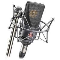 Image of Neumann TLM103 Cardioid Pressure Gradient Condenser Microphone with EA1 Shock-mount/Aluminum Case, 20Hz - 20kHz Frequency Response, 50 Ohms Impedance