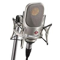 Image of Neumann TLM 107 Studio Set Multi-Pattern Large Diaphragm Condenser Microphone, Nickel