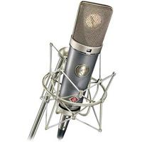 Image of Neumann Multi Pattern Mic with K67 Capsule, Omni, Cardioid & Figure8 Patterns, Pad & Filter, 20Hz-20kHz Frequency Response, 1 kOhms Load Impedance