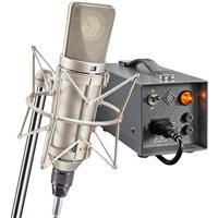 Image of Neumann U 67 Set Large-Diaphragm Tube Condenser Microphone (Nickel)