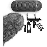 Image of Neumann Windscreen Set for RSM 191 Stereo Microphone and EA 30 B Suspension, Gray