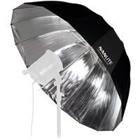 "Image of NanLite 53"" (135cm) Silver Deep Umbrella"