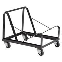 Image of National Public Seating DY86 Dolly for 20x 8600 Series Stack Chairs, Supports 332 Lbs, Black Frame