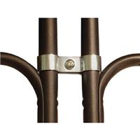 Image of National Public Seating Metal Ganging Clamp for Folding Chairs, Zinc Frame