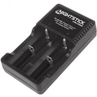 Image of Nightstick USB Dual-Battery Charger for 4700-BATT, Black
