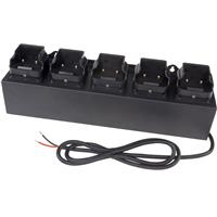 Image of Nightstick 5-Bank DC Charger for XPR-5568 Series Rechargeable INTRANT Angle Lights, Black