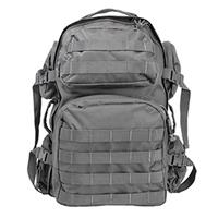 Image of NcSTAR Vism Tactical Day Backpack, MOLLE Compatible, Urban Gray