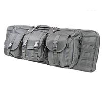 """Image of NcSTAR Vism Double 36"""" Carbine Rifle Soft Padded Case, Urban Gray"""