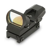 Image of NcSTAR 1x34mm Reflex Red & Green Dot Sight with Four 3 MOA Dot Reticles, with Integrated Weaver Mount, Black
