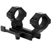 """Image of NcSTAR Vism AR Platform QR Weaver Mount / Cantilever Scope Mount Rear Ring /30mm and 1"""" Inserts"""