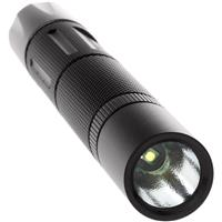 Image of Nightstick MT-120 Mini-TAC Aluminum Non-Rechargeable CREE LED Flashlight with 2x AA Battery, 140 Lumens, IP-X4 Water-Resistant, Black