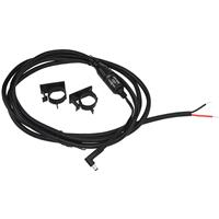 Image of Nightstick NS-DW12 12V Vehicle Direct Wire Kit for Charging Base, Right Angle Barrel Plug, Black