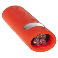 Image of Nightstick MultiPurpose 17 Lumen LED Dual-Light Flashlight, 2x AAA Batteries, Red
