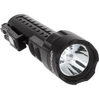 Image of Nightstick NSP-2422 MultiPurpose Dual-Light Non-Rechargeable LED Flashlight with 3x AA Battery and Integrated Magnets, 130 Lumens, IP-X7 Waterproof, Black