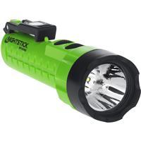 Image of Nightstick NSP-2424GMX X-Series Dual-Light LED Flashlight with Dual Magnets, 300 Lumens, IP-X7 Waterproof, Green