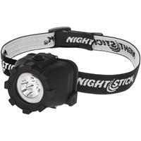 Image of Nightstick NSP-4603B Multi-Position Tilt Multi-Function LED Headlamp with 3x AAA Battery, 120 High Lumens, IP-X7 Waterproof
