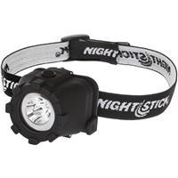 Image of Nightstick NSP-4605B Multi-Position Tilt Multi-Function LED Headlamp with 3x AAA Battery, 150 High Lumens, IP-X7 Waterproof