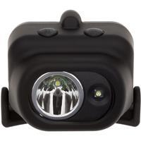 Image of Nightstick NSP-4608BC Multi-Position Tilt Dual-Light Multi-Function LED Headlamp with Hard Hat Clip and Mount, White Spotlight & Floodlight, 180 Lumens, IP-X7 Waterproof, Black