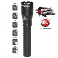Image of Nightstick NSR-9844XLDC Tactical Dual-Light Rechargeable LED Flashlight with Lithium-Ion Battery and DC Power Supply, 650 High Lumens, IP-X7 Waterproof
