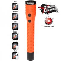 Image of Nightstick NSR-9920XLDC Polymer Duty/Personal-Size Rechargeable Dual-Light LED Flashlight with Magnet, Lithium-Ion Battery and DC Power Supply, 650 High Lumens, IP-X7 Waterproof, Red