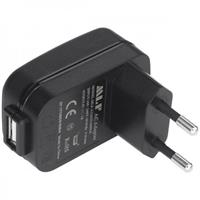 Compare Prices Of  Nightstick USB Type A to Male EU AC Power Plug Adapter