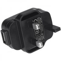 Image of Nightstick USB Type A to Male UK AC Power Plug Adapter