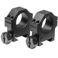 """Image of NcSTAR 30mm Rings, with 1"""" Insert, Medium, Pair"""