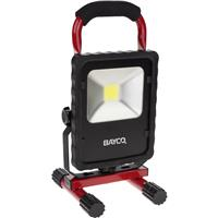 Compare Prices Of  Nightstick SL-1512 20W 2200 Lumen LED Single Fixture Area Work Light, Black/Red, AC Power