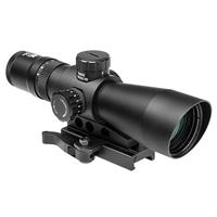 Image of NcSTAR 3-9x42 Mark III Tactical Gen 2 Riflescope, Matte Black Finish with Blue & Green Illuminated P4 Sniper Reticle, BDC Turret, Integrated Mount