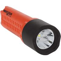 Image of Nightstick XPP-5418 X-Series Intrinsically Safe LED Flashlight with Tail Switch, 200 Lumens, Dustproof/Waterproof, AA Battery Power, Red