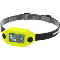 Image of Nightstick XPP-5460 X-Series Intrinsically Safe Low-Profile Dual-Light LED Headlamp, 200 Lumens, Dustproof/Waterproof, AAA Battery Power Green