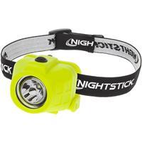 Image of Nightstick XPP-5450 Intrinsically Safe Dual-Function LED Headlamp, 60 High Lumens, IP-67 Dustproof / Waterproof, Green