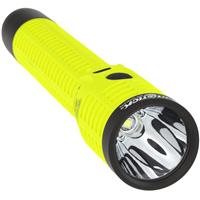 Image of Nightstick XPR-5542GMX Intrinsically Safe Rechargeable Dual-Light Flashlight with Dual Magnets, 400/170/80 Lumens, Dustproof/Waterproof, Green/Black