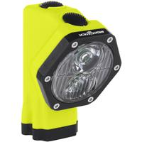 Image of Nightstick XPR-5560GLB Intrinsically Safe Permissible Dual-Light Rechargeable LED Cap Lamp with Integrated Li-Ion Battery, 180 Lumens Dual-Light, ANSI IP-67 Dustproof/Waterproof, Green/Black