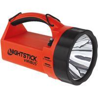 Image of Nightstick XPR-5581 VIRIBUS Intrinsically Safe Rechargeable Dual-Light Lantern, 1100/550 Lumens, Dustproof/Waterproof, Red/Black