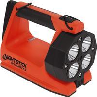 Image of Nightstick XPR-5582 Integritas Intrinsically Safe Rechargeable Lantern, 1750/600 Lumens, Dustproof/Waterproof, Red