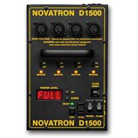 Information about Novatron D1500 Watt Second fully Computer Controlled, Digital Readout Power Pack Product photo