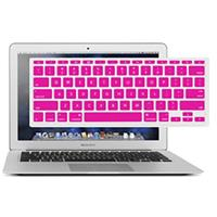 """Image of NewerTech NuGuard Keyboard Cover for 2011 & Later 13-15"""" MacBook Air and Pro with Retina Display, Pink"""