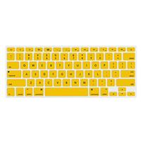 """Image of NewerTech NuGuard Keyboard Cover for 2011 & Later 13-15"""" MacBook Air and Pro with Retina Display, Yellow"""