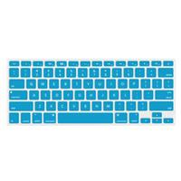 """Image of NewerTech NuGuard Keyboard Cover for 2011-15 13"""" MacBook Air and MacBook Pro with Retina Display, Light Blue"""