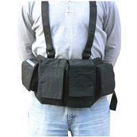 Image of Newswear Mens Documentary Chestvest, SLR Camera & Lens Carry System, Black.