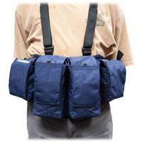Image of Newswear Mens Medium Chestvest, SLR Camera & Lens Carry System, Navy Blue