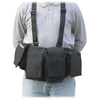 Image of Newswear Mens Medium Chestvest, SLR Camera & Lens Carry System, Black.