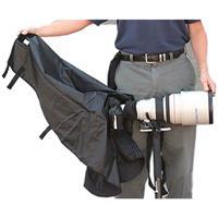Image of Newswear Long Lens Rain Poncho for Canon Camera Bodies, Safari Sand