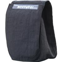 """Image of Newswear Small Press Pouch, Padded 7"""" Wide Angle Prime & Zoom Lens Carry Pouch, Black."""